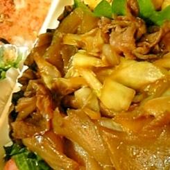 お弁当に!牛肉とキャベツの焼肉風炒め