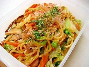 *葉野菜たっぷり☆ソース焼きそば*