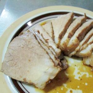 豚肩ロースの煮豚(圧力鍋使用)