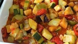 野菜たっぷりのラタトゥイユ