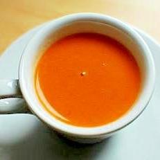 トマトとココナッツミルクのタイ風スープ