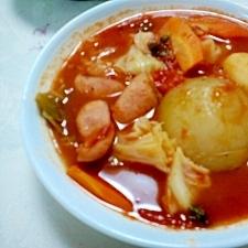 丸ごと新玉葱の 『 甘~い 』 野菜トマトシチュー