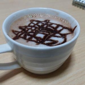 ほっこり幸せ~♡黒糖ミルクココア