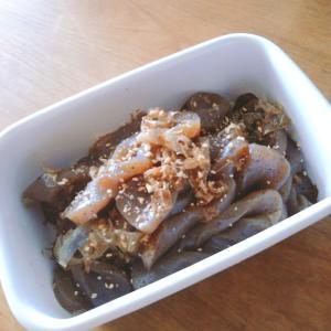 味シミシミ☆蒟蒻の煮物