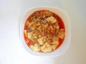 韓国風もやし麻婆豆腐