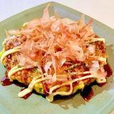 子供もペロリと食べちゃう♡小松菜のお好み焼き