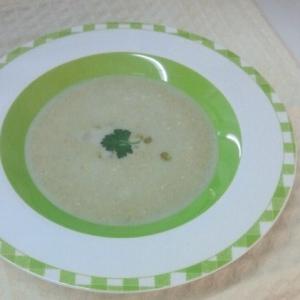空豆の冷製ポタージュ