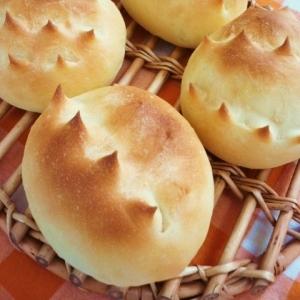 ちょっぴり恐竜?とげとげのパン