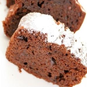 チョコホイップで簡単チョコスポンジケーキ