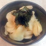 菊芋のさっぱり梅酢漬け
