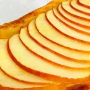 シートに乗せるだけ簡単アップルパイ