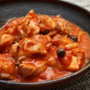 チキンのトマト味噌煮
