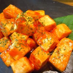 簡単&ヘルシー♪豆腐のチリソース和え