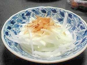 新玉葱のサラダ
