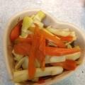 筍と人参の甘辛炒め