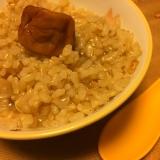 お鍋で 栄養満点!玄米がゆ