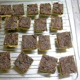 ロシア風ピーナッツココアクッキー