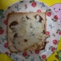 ほうれん草カレーマヨチーズトースト♥