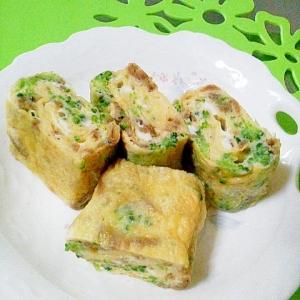 お弁当に✿いかなご釘煮とブロッコリー卵焼き✿