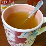 風邪ひきさんのための蜂蜜生姜緑茶