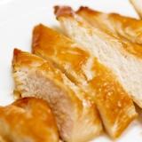 鶏胸肉 de オーブンにおまかせ鶏の照り焼き