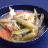 トルコ料理★いんげんのオリーブオイル煮
