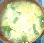 たまごとわかめの和風スープ