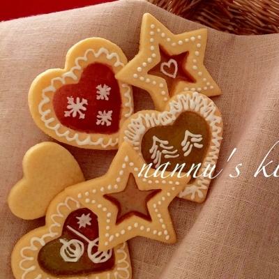 クリスマスプレゼントにも♪簡単で可愛い「ステンドグラスクッキー」
