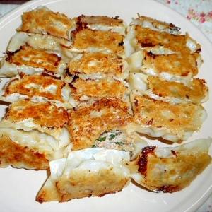 大葉・もやし・椎茸の焼き餃子