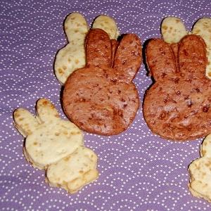 バター・卵不使用★すぐできる!型抜きクッキー