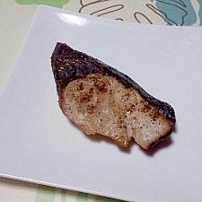 鰤の塩焼き++