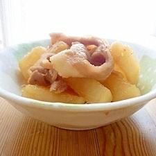 豚バラ&大根の煮物