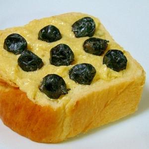 なんとなくお節♪黒豆芋トースト