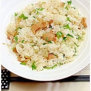 豚味噌の混ぜご飯