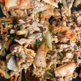 白菜と小松菜のこくうま豚キムチ