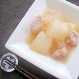 冷やしてどうぞ♪冬瓜と鶏肉のあっさり煮
