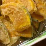 サクサク美味しい♪かぼちゃの天ぷら