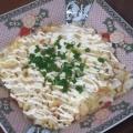 オープントースターで☆長芋と豆腐のグラタン★