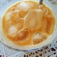 アイス☆パンプキンレーズンシナモンきなこミルク♪