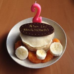 2歳のお誕生日に♪ミルクレープ