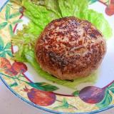 ダシダで味付けふっくらハンバーグ