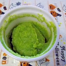 離乳食中期◎ブロッコリーのスイートポテト