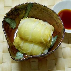 鶏ひき肉のロール白菜