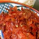 【常備菜】しし肉のしぐれ煮