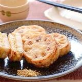 炒り豆腐のれんこん挟み焼き