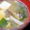 豆腐とワカメの鉄砲汁