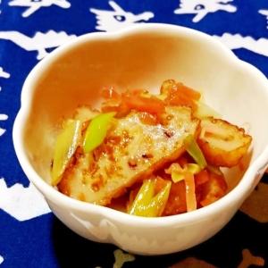 さつま揚げの紅生姜炒め