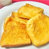 レンジDEふわふわフレンチトースト