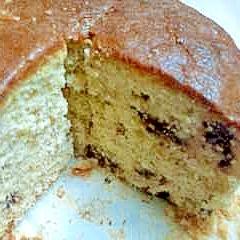 ホットケーキミックスでバナナチョコパウンドケーキ♪