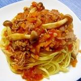 昔懐かし!給食で食べたミートソーススパゲティを再現